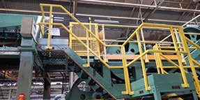 access platform handrail