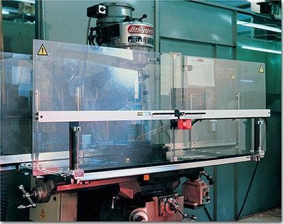 Milling Machine Guards Nelsa Machineshop Procter