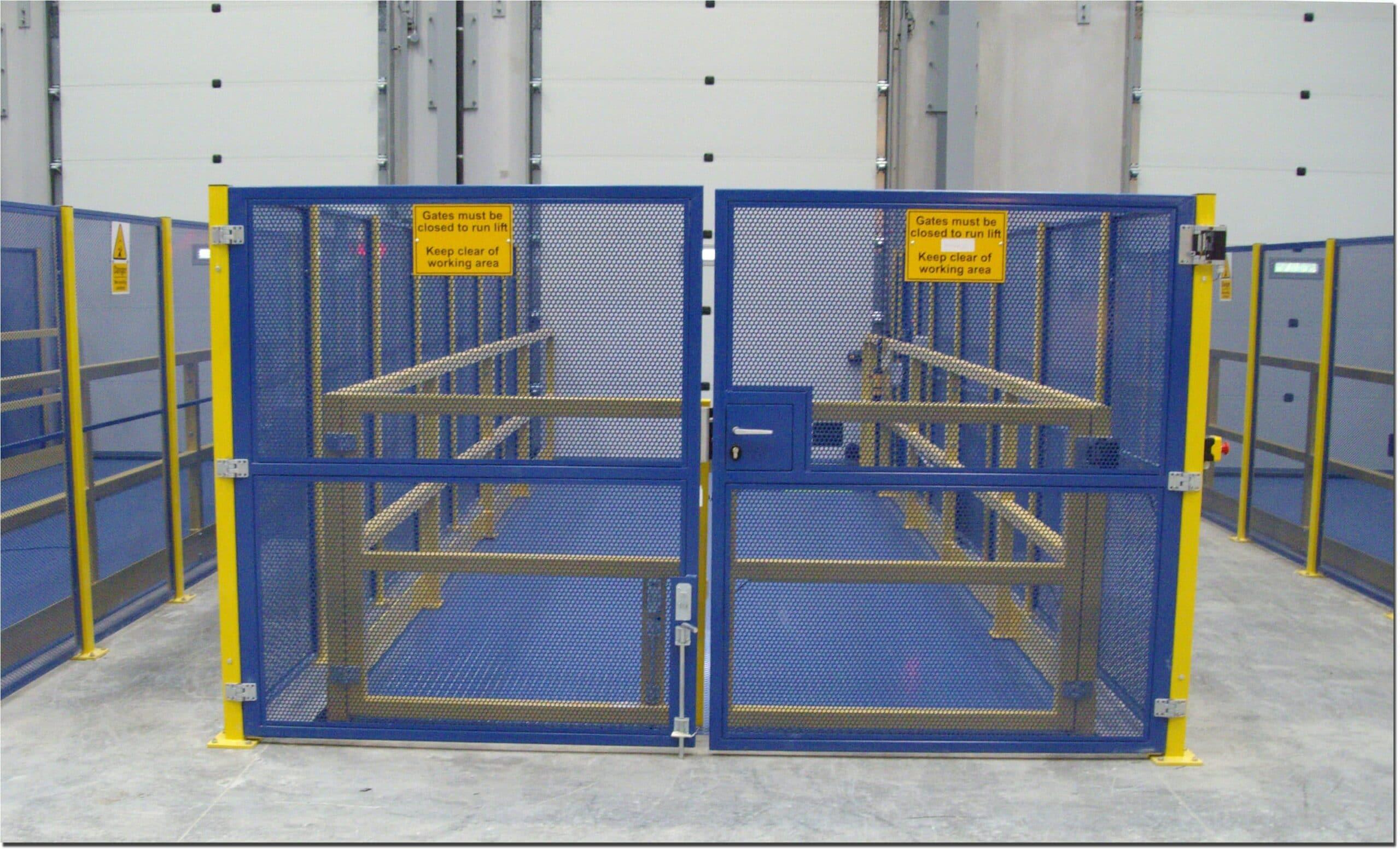Modular Perimeter Guards Gallery Procter Machine Safety