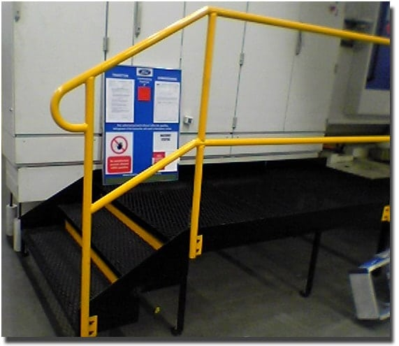 Staircase Regulations Uk >> Access Platforms | Gallery | Procter Machine Safety