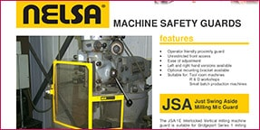 jsa milling machine guards datasheet
