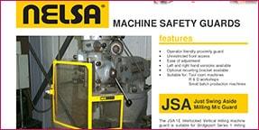 jsa milling machine guards datasheet