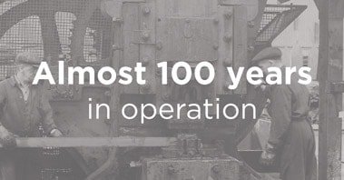 Procter Machine Safety 100 years in operation