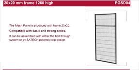 SATECH 1260mm panels data sheet
