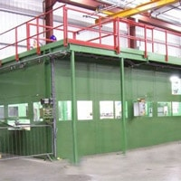 acoustic enclosure sheet steel