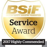 BSIF service award