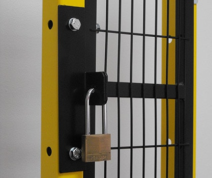 SATECH padlock bracket with lock set