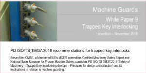 PD ISO/TS 19837:2018 for trapped key interlocks