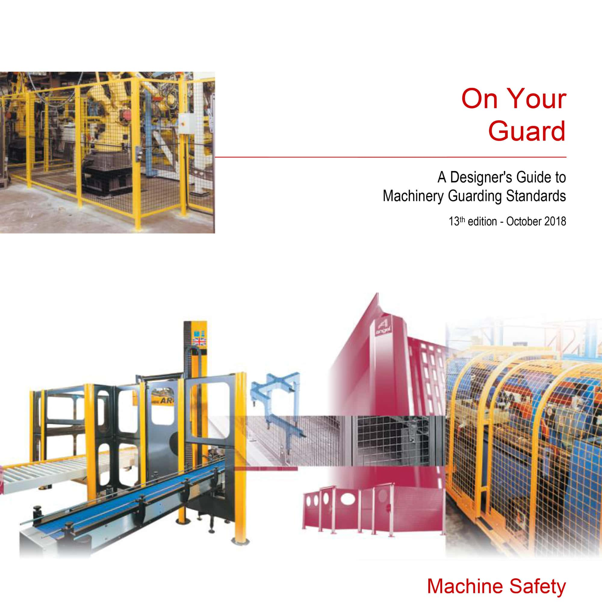 designer's guide to machinery guarding standards